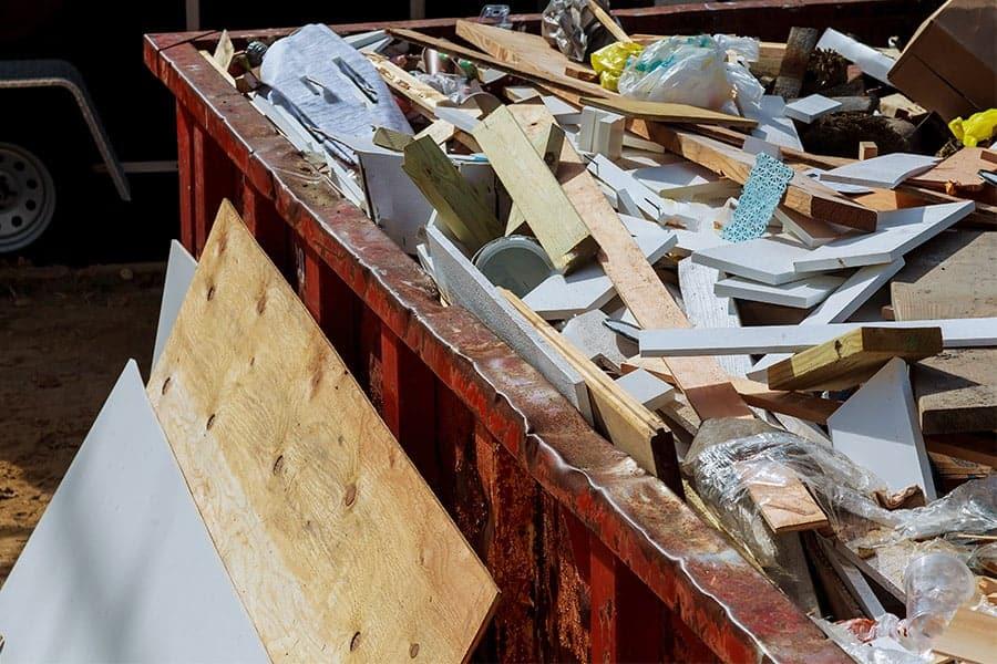 Konténer rendelés Budapest, konténeres sittszállítás, vegyes hulladék szállítás